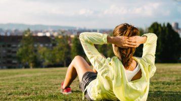 Å trene ute gir glede og fine opplevelser