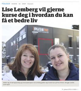 Lise Lemberg i Freeliving Moss og Follo